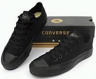 Кеды Convers Low Black