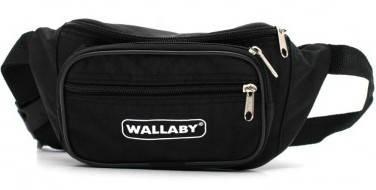 Удобная сумка на пояс Wallaby 2907 blaсk