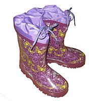 Резиновые сапоги для девочек Tom.M