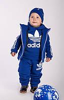 Спортивный костюм детский Адидас тройка теплый № 168 е.в.