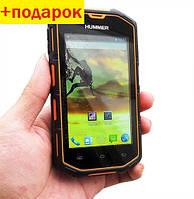 Защищенный телефон Hummer H5 -купить 2-ядерный смартфон IP68, Android 4.2.2