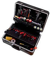 Инструмент для электроники и точной механики, Набор инструментoв для электрoники, в чемодане, Bahco, 2010