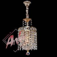 Хрустальный подвес для прихожей, спальни на 1 лампочку
