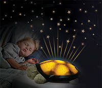 "Детский ночник ""Черепашка"" (Twilight Turtle - Classic, Cloud B). Игрушка - проектор звездного неба"