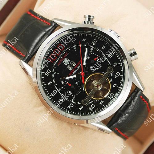 Механические наручные часы Tag Heuer Mikrotimer 1000 Silver/Black/Red 2107