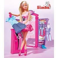 Кукла Steffi с одеждой Модный бутик Simba 5732852
