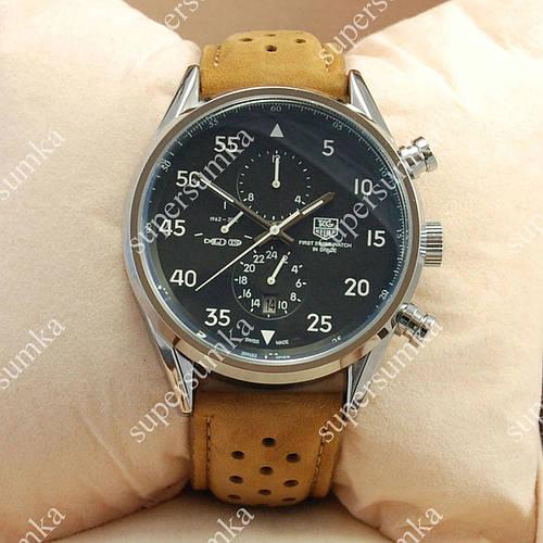 Классические наручные часы TAG Heuer Carrera 1887 SpaceX Mechanic Silver/Black 2125