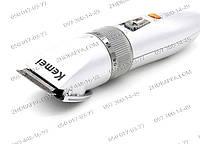 Машинка для стрижки Kemei 27 C, на аккумуляторе, регулируемая длина насадки, от 0,8 мм до 2 мм, стрижка, профи