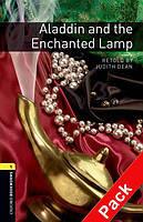 Книга для чтения Oxford Bookworms Library 1 Alladin and the Enchanted Lamp + CD