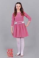 Красивое платье для девочки с бантиками