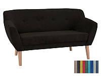 Мягкий диван Signal Bergen 2 коричневый