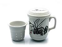 """Чашка заварочная с ситом (SFC30) """"Трава"""" (230 мл)"""