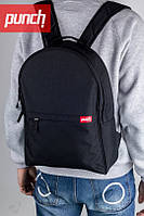 Черный рюкзак PUNCH Crypt, black
