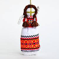 Кукла-мотанка красная маленькая