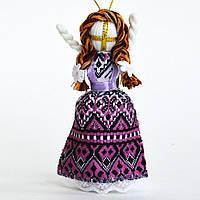 Кукла-мотанка розовая маленькая