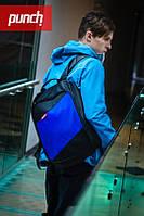 Рюкзак PUNCH - Black/Blue