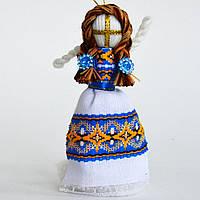 Кукла-мотанка синяя маленькая