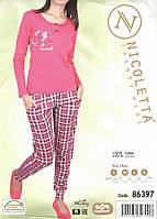 Женская пижама из хлопка   Nicoletta 86397