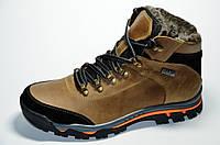 Мужские кожаные зимние ботинки (43 р.)