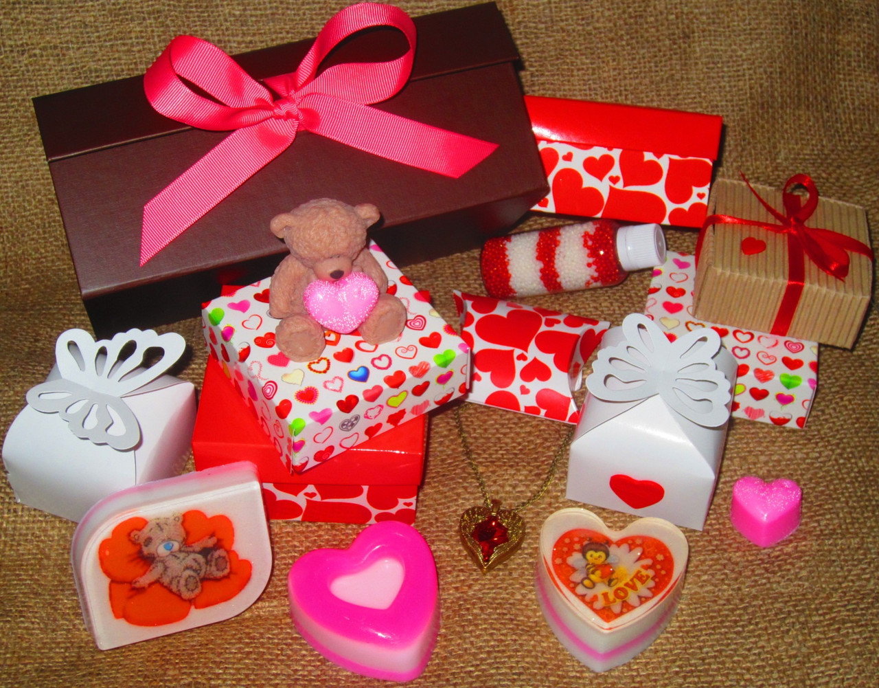 Подарки на валентина фото