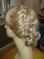 Прическа вечерняя Плетение на длинные волосы