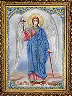 P-081 Набор для вышивания бисером Икона Ангела Хранителя