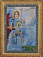 P-092 Набор для вышивания бисером Икона Святого Архангела Михаила