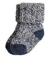 Детские полушерстяные носочки H&M.0-3, 3-6, 12-24 месяца