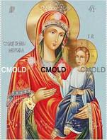 """Алмазная вышивка икона """"Пресвятая богородица Иверская"""""""