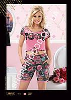 Женская пижама Anit 10043, костюм домашний с шортами