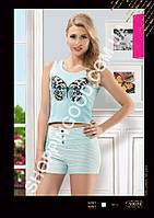 Женская пижама Anit 10074, костюм домашний с шортами