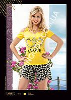 Женская пижама Anit 10101, костюм домашний с шортами