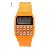 Детские наручные часы с калькулятором 2