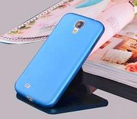 Мягкий ультратонкий (0,3 мм) пластиковый голубой чехол для Samsung Galaxy S4
