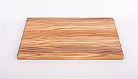 Кухонная разделочная доска классическая из ясеня 35х50х3,5 см