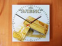 Настенные часы под заказ с Вашей картинкой (фото)