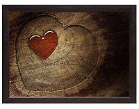 Мини поднос на подушке Сердце