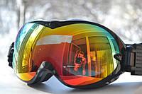 Горнолыжная, лыжная, сноуборд маска (очки)_HB-155 black
