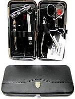 Маникюрный набор Kellermann 7 предметов 7780 Leder натуральная кожа