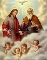 """Алмазная вышивка """"Иисус и ангелы"""""""