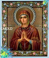 """Алмазная вышивка икона """"Богородица Семистрельная"""""""