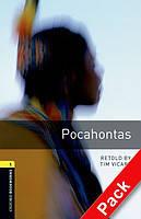 Книга для чтения Oxford Bookworms Library 1 Pocahontas + CD