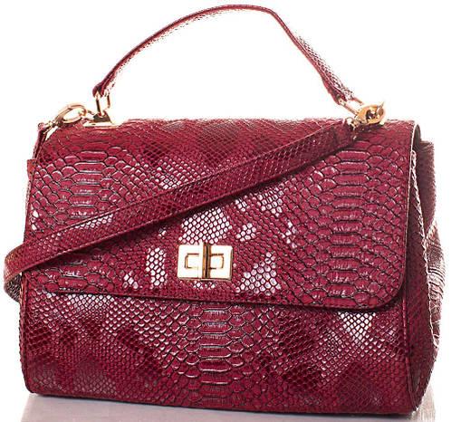 Фантастическая женская сумка из экокожи Europe Mob, EM0037-7, бордовая