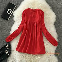 Шифоновое платье туника