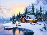 """Алмазная вышивка """"Зимние каникулы"""""""