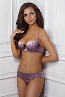 Набор женского белья с печатным рисунком ERMA 1144/58 ROBBY 2213/58 Jasmine lingerie эффект кружева