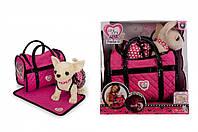 "Собачка Чихуахуа ""Розовая мечта"" Chi Chi Love (5899700) с ковриком и сумочкой, 20 см, 5+"