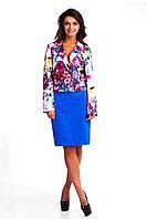 Модная молодежная юбка-карандаш классического кроя