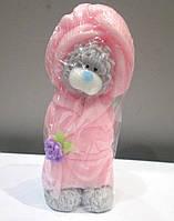 Мишка Тедди в халате - мыло ручной работы на подарок на день влюбленных