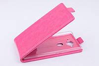 Чехол флип для Acer Liquid E3 DualSim розовый
